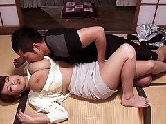 Bigtitted asian progenitrix cocksuck and titfuck