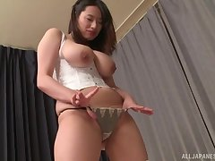 Busty Asian Haruna Hana has memorable sex with her boyfriend