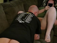 Hairy Redhead Slut Pussy Eaten with an increment of Doesn't Care (Part 1)