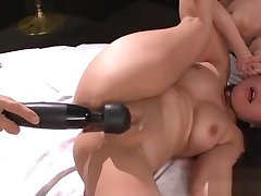 Naughty and scatological asian anal play