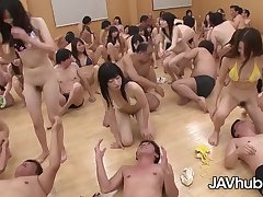 Sweet Japanese damsels are be suited to have a grup orgy class, as part of their discrimination