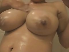 wife's huge lactating boobs 13