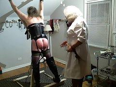Nurse Samantha examines Jeanne Part 2