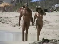 Lovebirds rejoice on a sunny overhear beach closed cam sheet