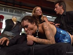 A great upper floor sexual party for an obstacle office ladies