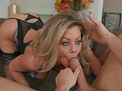 XXX eyed MILF, insane porn scenes at home