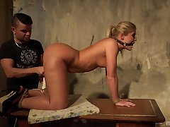 Big ass blonde fucked a lot and dominated