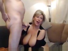 Mature Mother Cums Humping Cushion