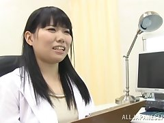 Video of dear Japanese alloy sucking a dick of their way patient