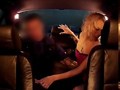 Blonde hooker picked up by police plus gets a chance to get into