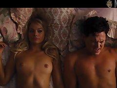 Margot Robbie naked scenes compilation