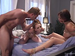 Katy Cuddle and Syren De Mer are discussed a domineering beau