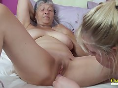 Four Busty Mature Lesbians Screwing Toys