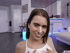 POV video be worthwhile for horny room-mate Jill Kassidy riding a stiff cock
