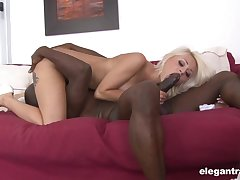 Black man enjoys proper 69 oral connected with this cutie in front fucking her fro