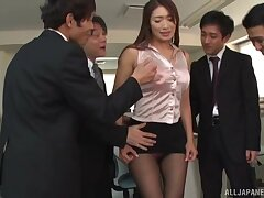 Expressionless makes Kobayakawa Reiko happier than playing with a dick