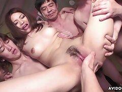 Rinoa Yuuki Japanese Babe Getting Bukakke In Gangbang