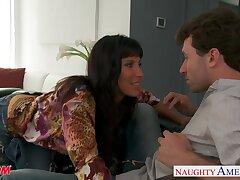 Hot 47 yo woman Lezley Zen bangs 26 yo affiliate be advisable for her son