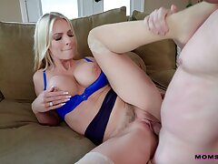 Busty Rachael Cavalli rides a cock space fully her chunky tits bounce
