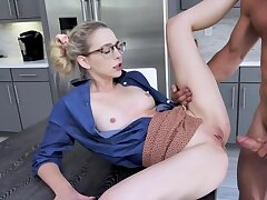 Johnny Ch�teau spanks Lily Larimar a lot while fucking their way
