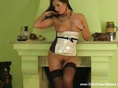 Morose Woman Strips For Voyeur boyfriend While Watching