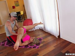 Deep more the addition of sensual anal sex more flexible blonde room-mate Candice Dare