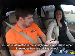 Amateur czech student nursemaid doll banged in excess of backseat